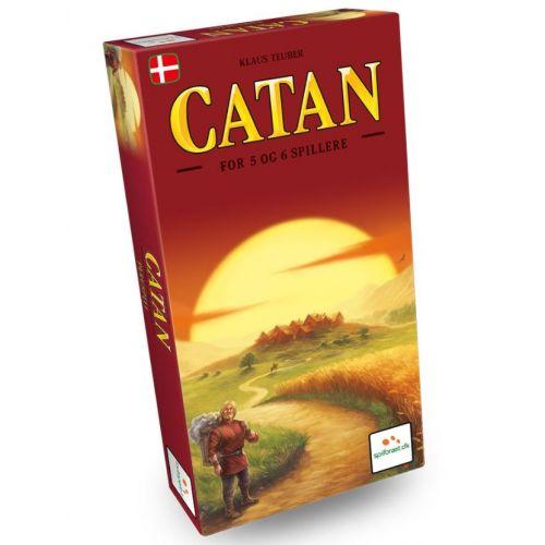 Catan 5-6 - Udvidelsespakke - Dansk strategi spil