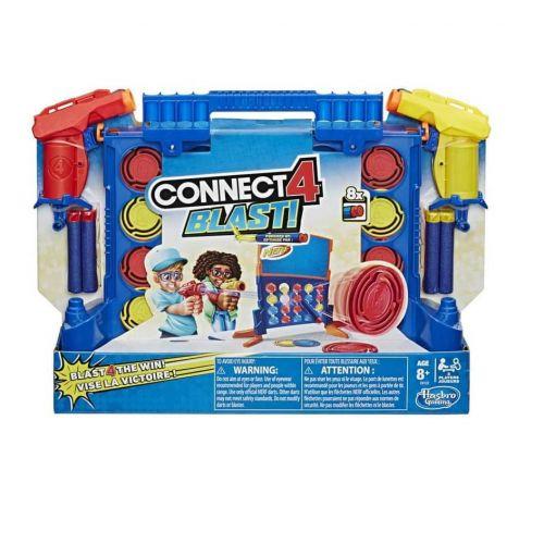 Connect Blast - Skyd 4 på stribe - Hasbro Spil