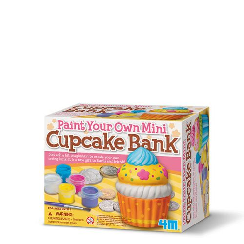 4M Modeler, Mal og dekorer din egen Cupcake Sparebøsse