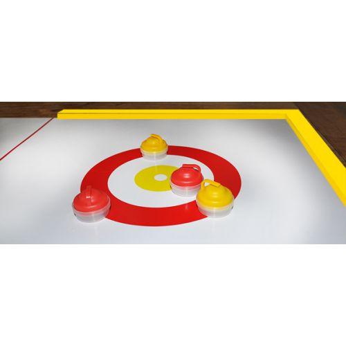 Curl4all 190 cm - Sjovt bord-Curling spil for hele familien