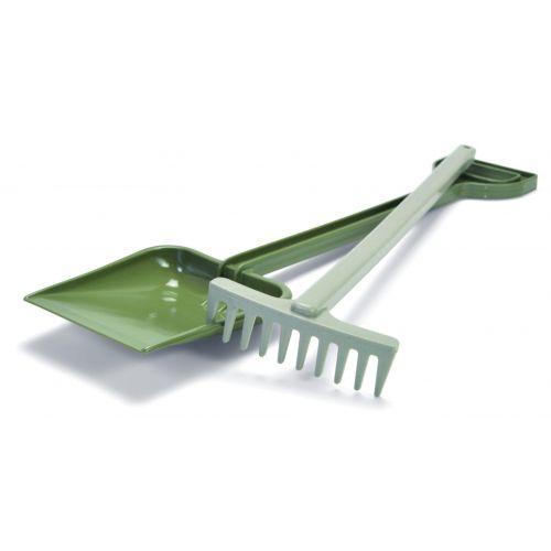 Dantoy Genbrug - Sæt m. Rive 42 cm og skovl 50 cm