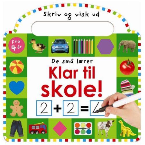 De små lærer - Skriv og visk ud - Klar til skole - Papbog