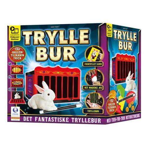 Det fantastiske Tryllebur m. Kanin og flere tricks