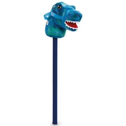 Dinosaur Kæphest m. lyd - Blå
