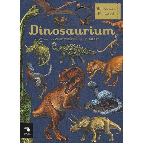 Dinosaurium -  smukt illustrerede bog om dinosaurer