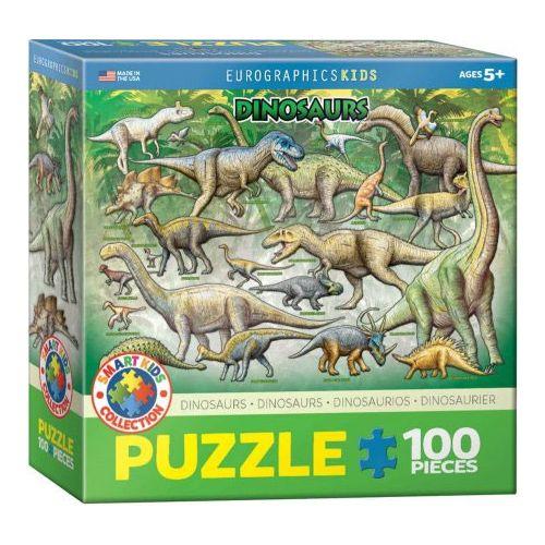 Dinosaurs Creataceous Puslespil med 100 brikker