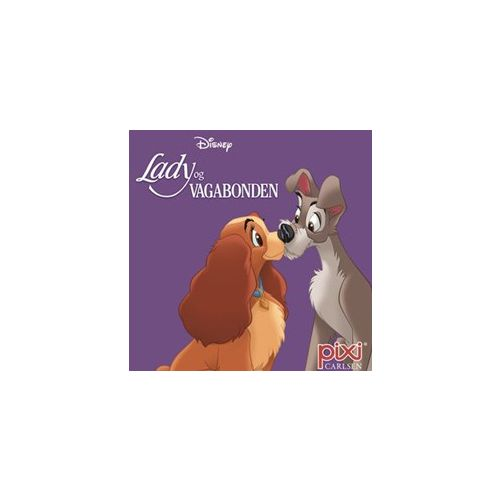 Disney - Lady og Vagabonden - Pixi bog