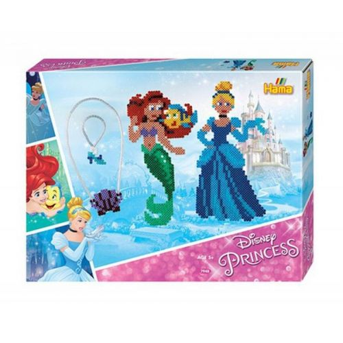 Hama gaveæske - 4000 perler - Disney Princess
