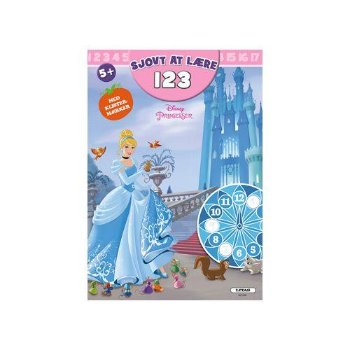Disney Prinsesser - Leg og Lær - TAL