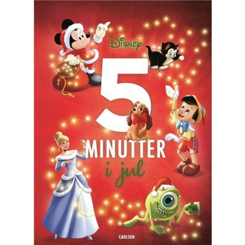 5 minutter i Jul - Disney godnatlæsningsbog