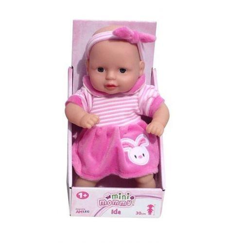 Mini Mommy Dukke Ida 30 cm m. kanin på kjolen