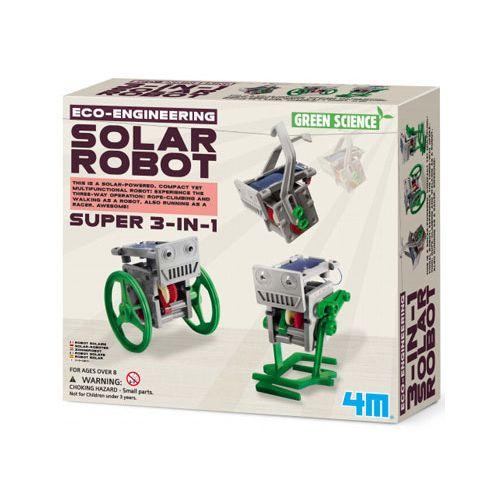 KidzLabs Green Science - 3i1 Soldrevet Robot
