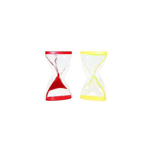 Eduplay Stort Timeglas - Assorteret Rød og gul