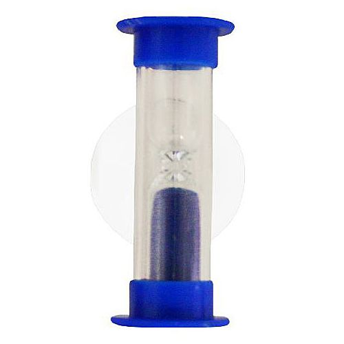 Eduplay Timeglas til tandbørstning m. sugekop  - blå