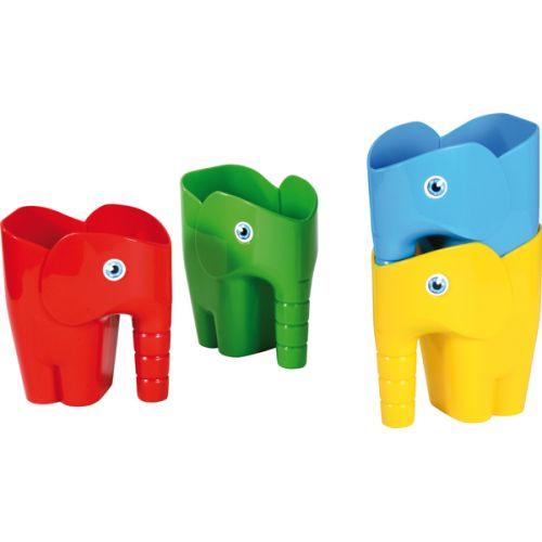 Eduplay Elefant skovl 12 cm - Assorteret