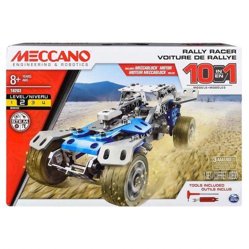 Meccano Byggesæt - 10 i 1 - Rally Racer