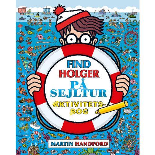 Find Holger - På Sejltur - Aktivitetsbog