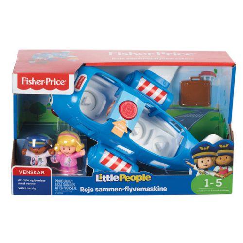 Fisher-Price Rejs sammen Flyvemasine
