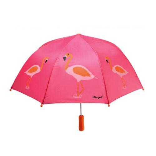 Magni Flamingo Paraply til børn