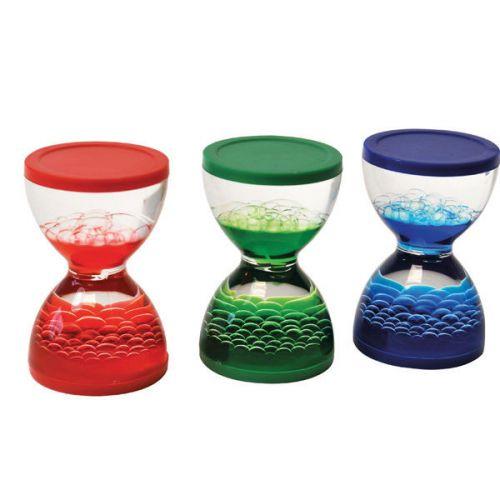 Flydende timeglas - Sæt m. 3 stk