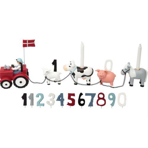 Bondegård fødselsdagstog - Kids By Friis