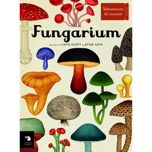Fungarium - smuk bog om alverdens svampe