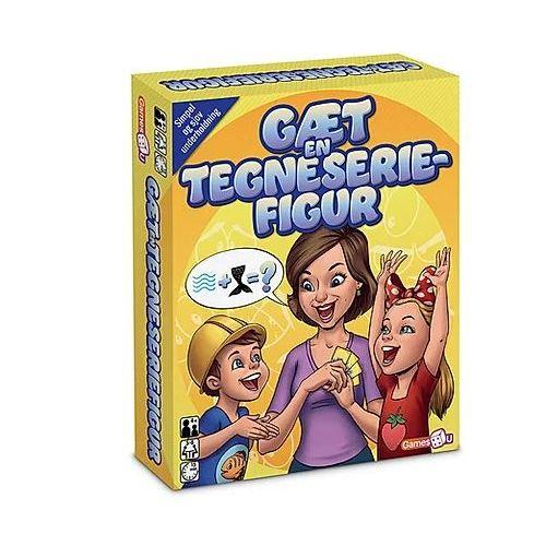Games4U Gæt en Tegneseriefigur