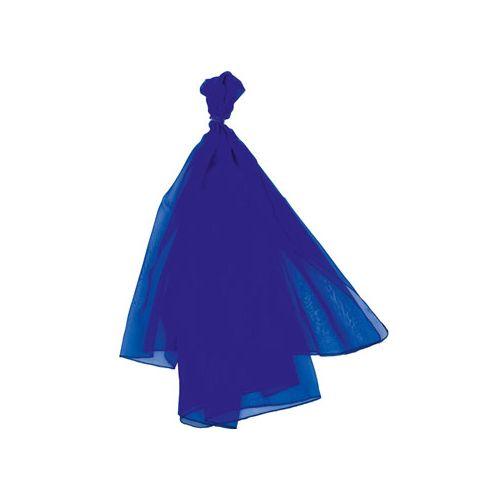 Goki Trylletørklæde 140 x 140 cm, ensfarvet Blå