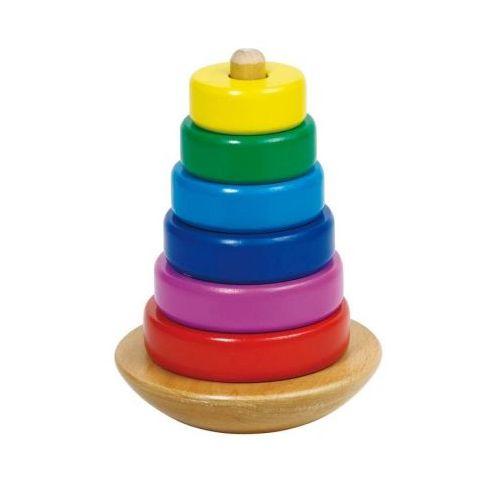 Goki Stabeltårn træ m. tilt funktion