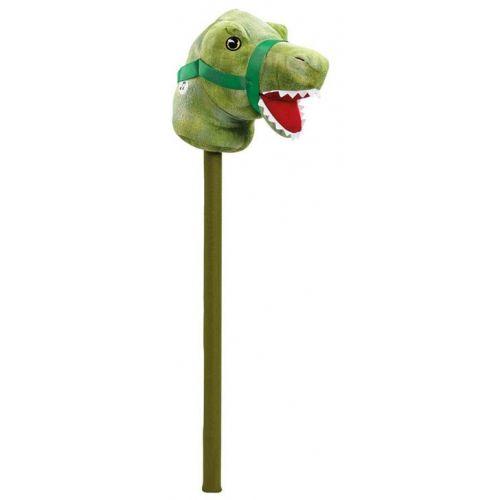 Dinosaur Kæphest m. lyd - Grøn