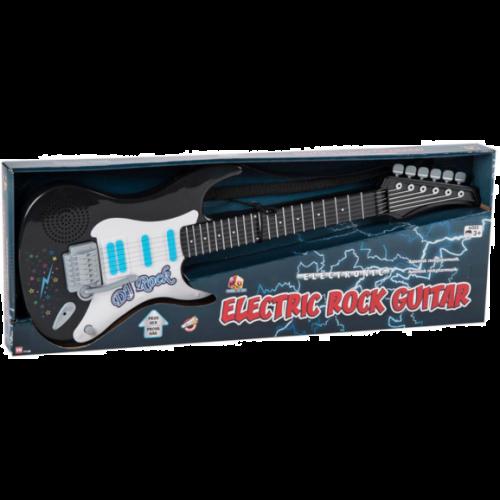 Elektronisk Rock Guitar - sort