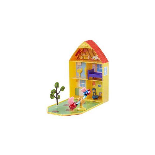 Gurli Gris -Folde ud Hus med 2 figure