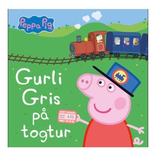 Gurli Gris på togtur - Papbog