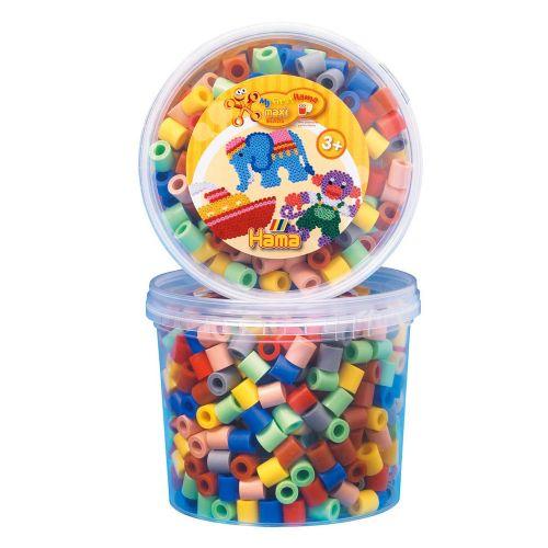 Hama Maxi perler i dåse - 600 stk.