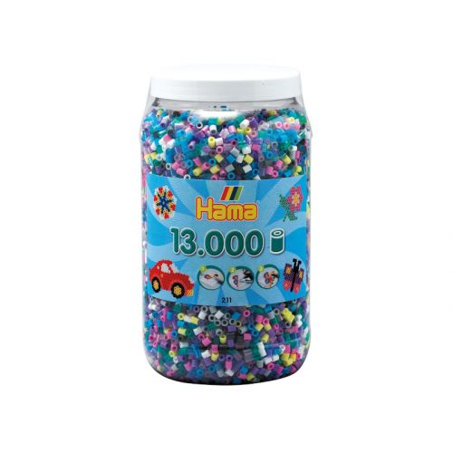 Hama Midi Perler m. 13000 stk. - mix 69