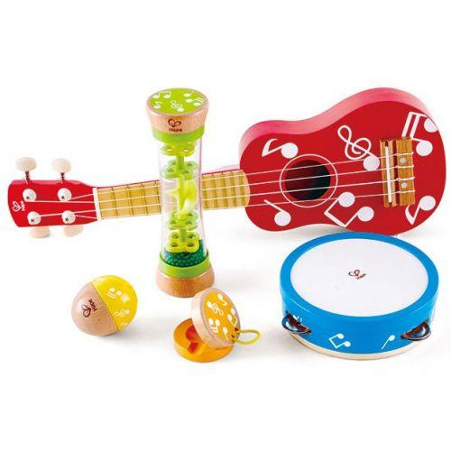 Hape Mini Band Sæt m. Guitar