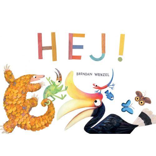 HEJ! - bog med skønne dyr og sjove rim