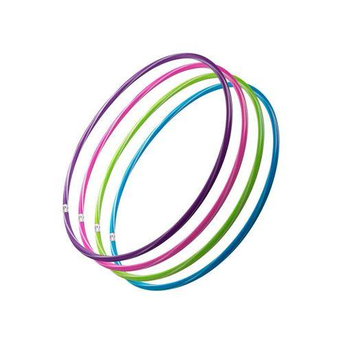 Hula Hop Ring med striber Ø80 cm - Assorterede