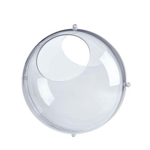 Koziol Orion Opbevaringskugle Small - Crystal Clear - sæt 2 stk.