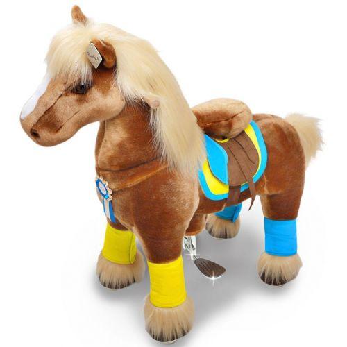 PonyCycle Small Mekanisk Pony Lys Brun - Premium K-serie