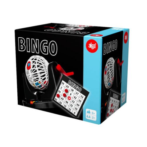 Klassik Bingo m. Tromle fra Alga