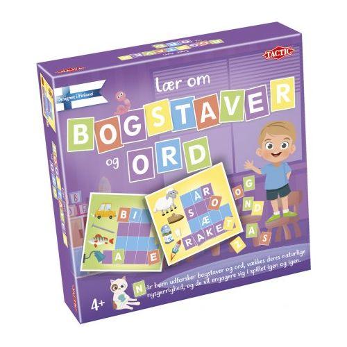 Lær om bogstaver og ord - børnespil fra Tactic