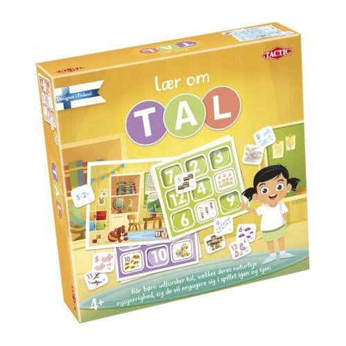 Lær om tal - børnespil fra Tactic