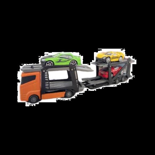 Teamsterz Metal Bil Transport m. 3 biler - Assorterede