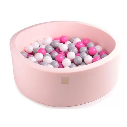 Meow Rund Boldbassin med 200 bolde 90 x 30 - Light Pink
