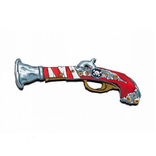 Liontouch Red Stripe - Pirat Pistol
