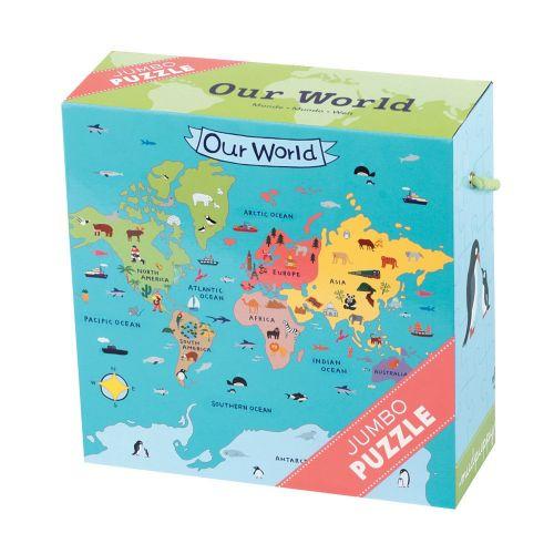 Mudpuppy Jumbo puslespil 25 brk - Vores verden