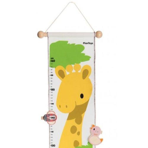PlanToys Jungle Højdemåler - stof 160 cm