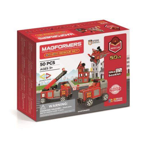 Magformers Brandmands sæt, 50 dele