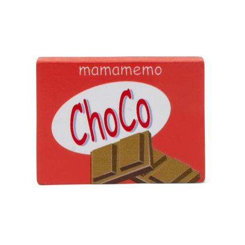 Mamamemo Chokoladebar - legemad i FSC træ